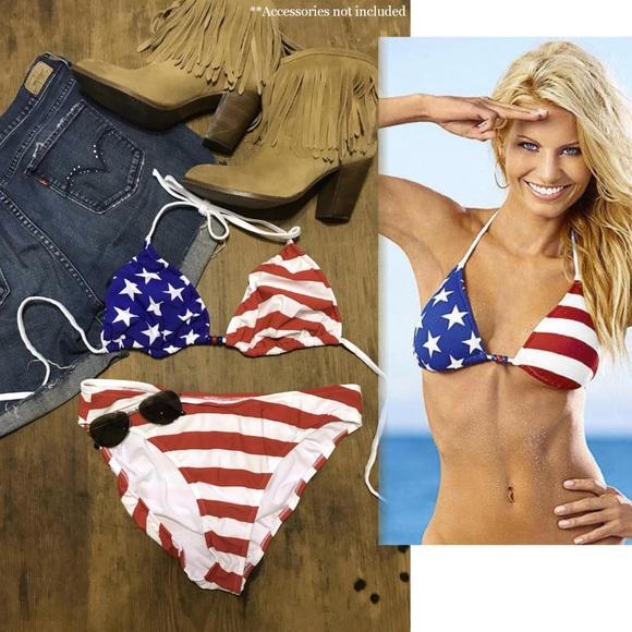 bda043e5be VENUS Swim | 2pc Bikini Stars Stripes Suit 14 Dd | Poshmark